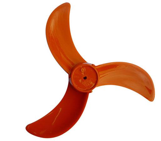 Cánh quạt gió kiểu quạt công nghiệp 3 cánh màu đỏ